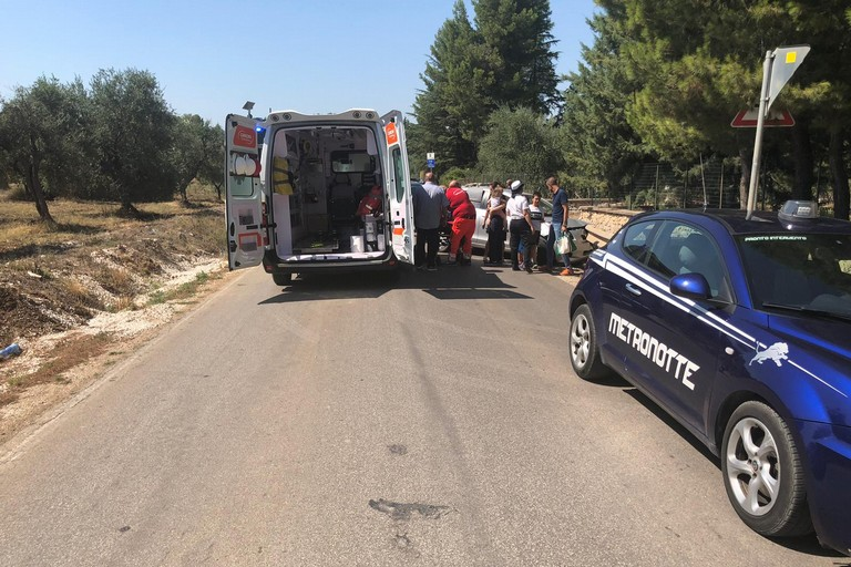 Incidente via Castel del Monte