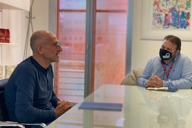 Pasquale Casillo intervistato da Giuseppe Di Bisceglie